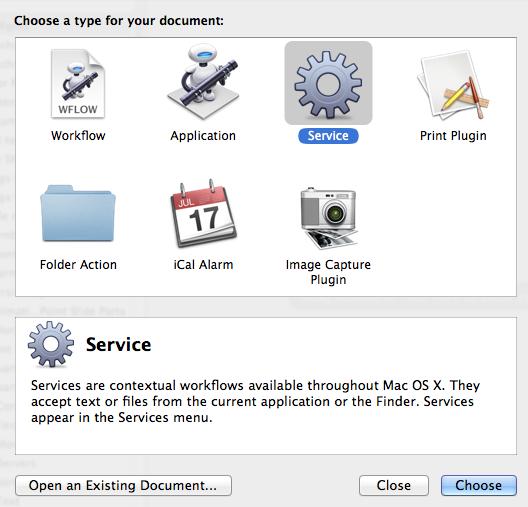 Mac OS X: Launch Terminal from keyboard shortcut · Claudio d\u0027Angelis